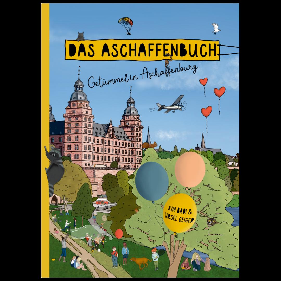Buchcover Aschaffenbuch - Auf der Seite www.aschaffenbuch.de
