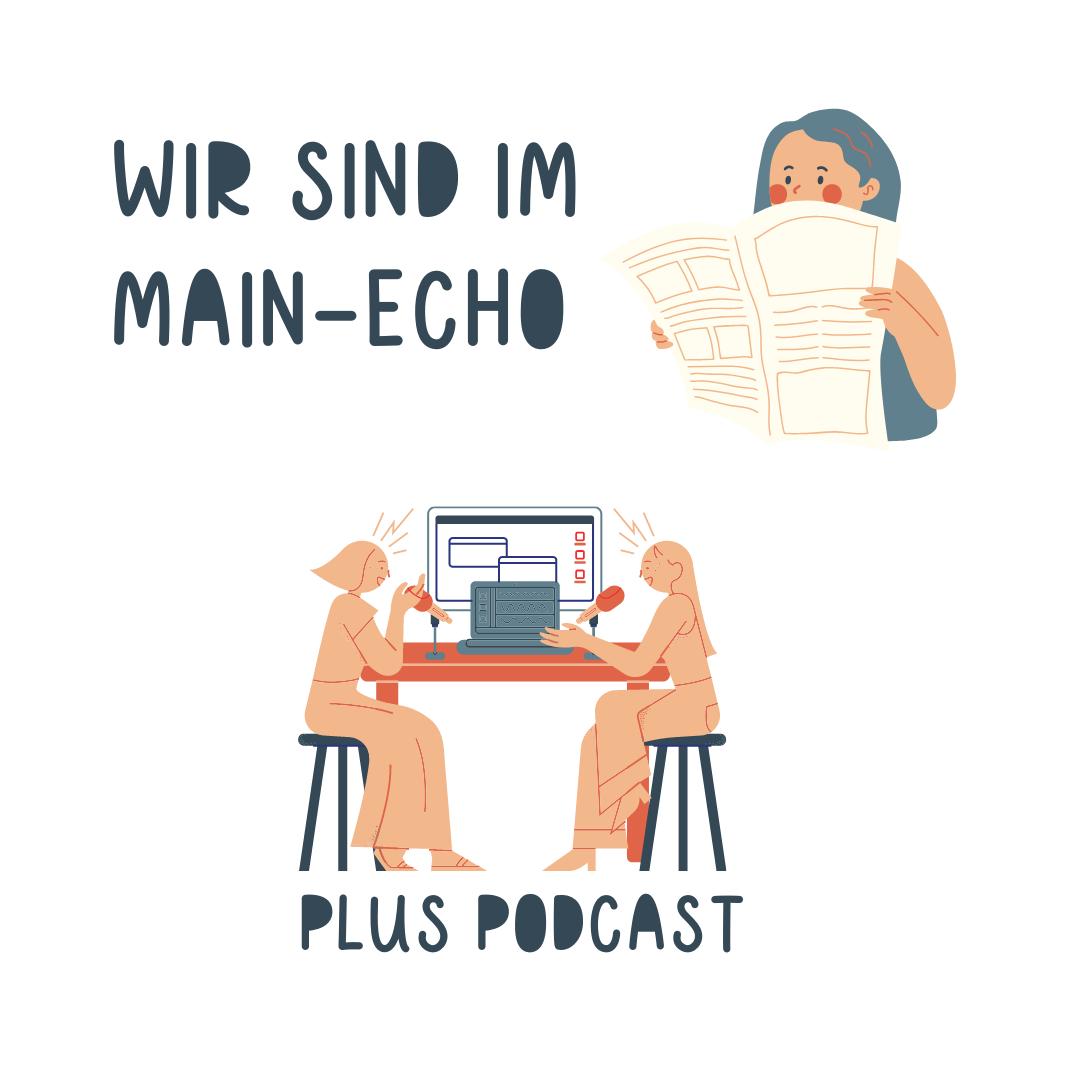 Wir sind im Main-Echo plus Podcast - Auf der Webseite www.aschaffenbuch.de